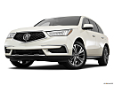 2017 Acura MDX, front angle view, low wide perspective.