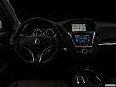 "2017 Acura MDX, centered wide dash shot - ""night"" shot."