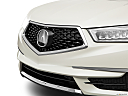 2017 Acura MDX, close up of grill.