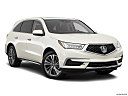 2017 Acura MDX, front passenger 3/4 w/ wheels turned.