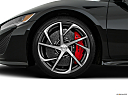 2017 Acura NSX, front drivers side wheel at profile.