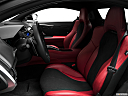 2017 Acura NSX, front seats from drivers side.