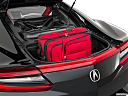 2017 Acura NSX, trunk props.