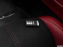 2017 Acura NSX, key fob on driver's seat.