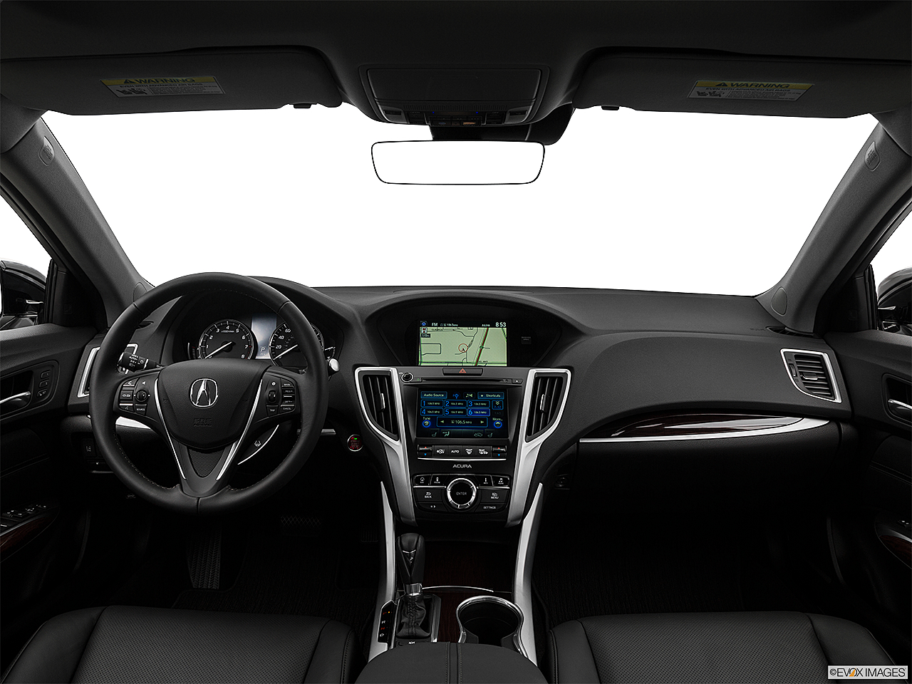 2017 Acura TLX 2.4 8-DCP P-AWS, centered wide dash shot