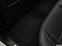 2017 Acura TLX 2.4 8-DCP P-AWS, rear driver's side floor mat. mid-seat level from outside looking in.