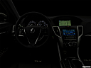 "2017 Acura TLX 2.4 8-DCP P-AWS, centered wide dash shot - ""night"" shot."