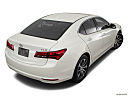 2017 Acura TLX 2.4 8-DCP P-AWS, rear 3/4 angle view.