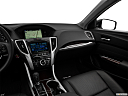 2017 Acura TLX 2.4 8-DCP P-AWS, center console/passenger side.