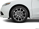 2017 Acura TLX 3.5L, front drivers side wheel at profile.