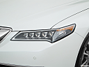 2017 Acura TLX 3.5L, drivers side headlight.