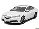 2017 Acura TLX 3.5L, front angle view.