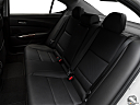 2017 Acura TLX 3.5L, rear seats from drivers side.