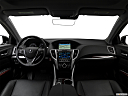 2017 Acura TLX 3.5L, centered wide dash shot