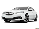 2017 Acura TLX 3.5L, front angle view, low wide perspective.