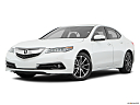 2017 Acura TLX 3.5L, front angle medium view.