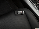 2017 Acura TLX 3.5L, key fob on driver's seat.