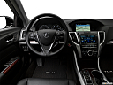 2017 Acura TLX 3.5L, steering wheel/center console.