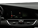 2017 Alfa Romeo Giulia, closeup of radio head unit