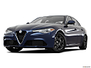 2017 Alfa Romeo Giulia, front angle view, low wide perspective.