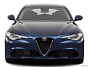 2017 Alfa Romeo Giulia, low/wide front.