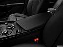2017 Alfa Romeo Giulia, front center console with closed lid, from driver's side looking down