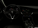 "2017 Alfa Romeo Giulia, centered wide dash shot - ""night"" shot."