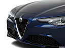 2017 Alfa Romeo Giulia, close up of grill.