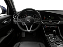 2017 Alfa Romeo Giulia, steering wheel/center console.
