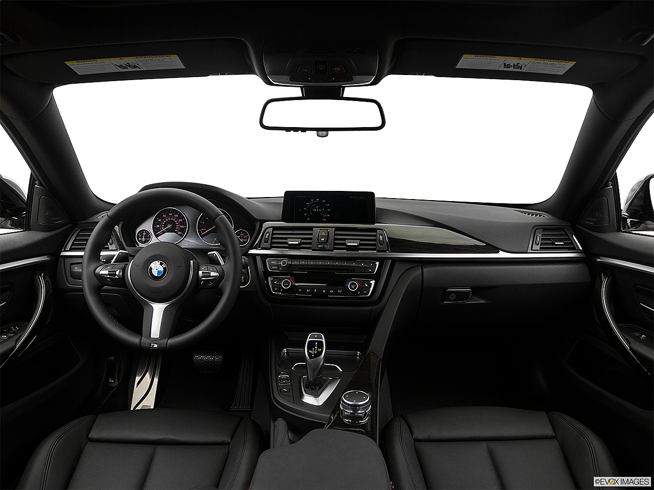 2017 BMW 4 Series 440i Gran Coupe Centered Wide Dash Shot