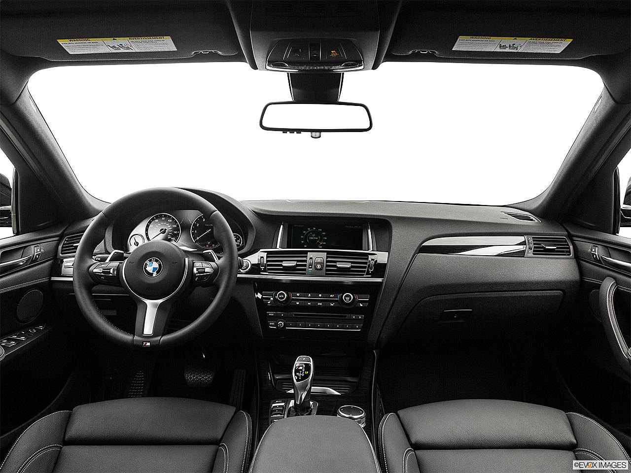 2017 BMW X4 M40i Centered Wide Dash Shot
