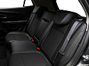 2017 Buick Encore Preferred, rear seats from drivers side.