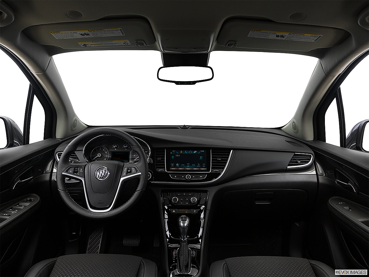 2017 Buick Encore Preferred, centered wide dash shot