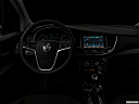 "2017 Buick Encore Preferred, centered wide dash shot - ""night"" shot."
