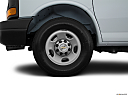 2017 Chevrolet Express 2500 Cargo Extended WT, front drivers side wheel at profile.