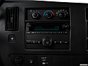 2017 Chevrolet Express 2500 Cargo Extended WT, closeup of radio head unit