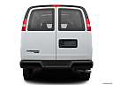 2017 Chevrolet Express 2500 Cargo Extended WT, low/wide rear.