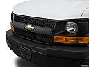 2017 Chevrolet Express 2500 Cargo Extended WT, close up of grill.