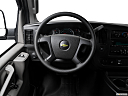 2017 Chevrolet Express 2500 Cargo Extended WT, steering wheel/center console.