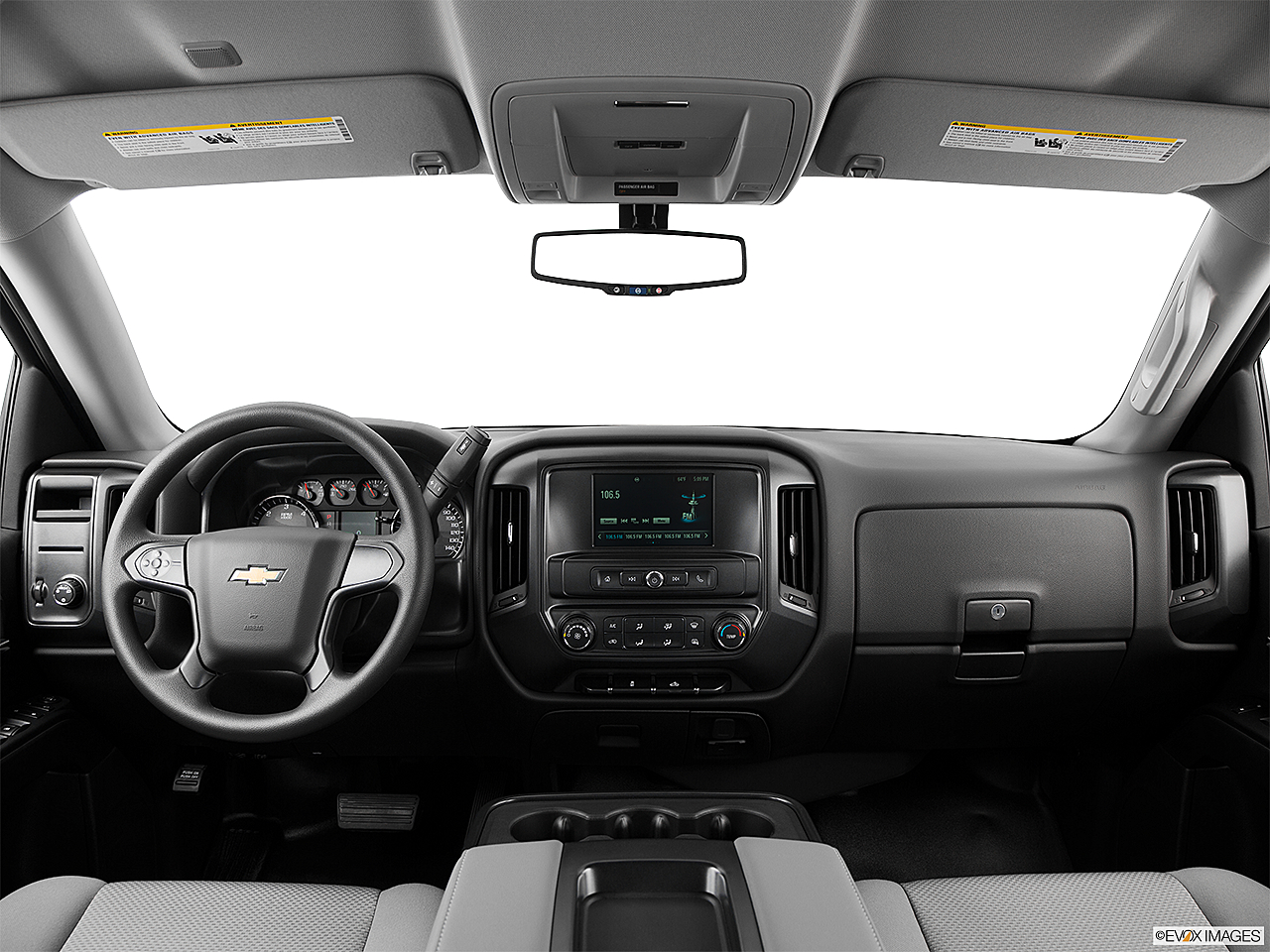 2017 Chevrolet Silverado 1500 Ls Centered Wide Dash Shot