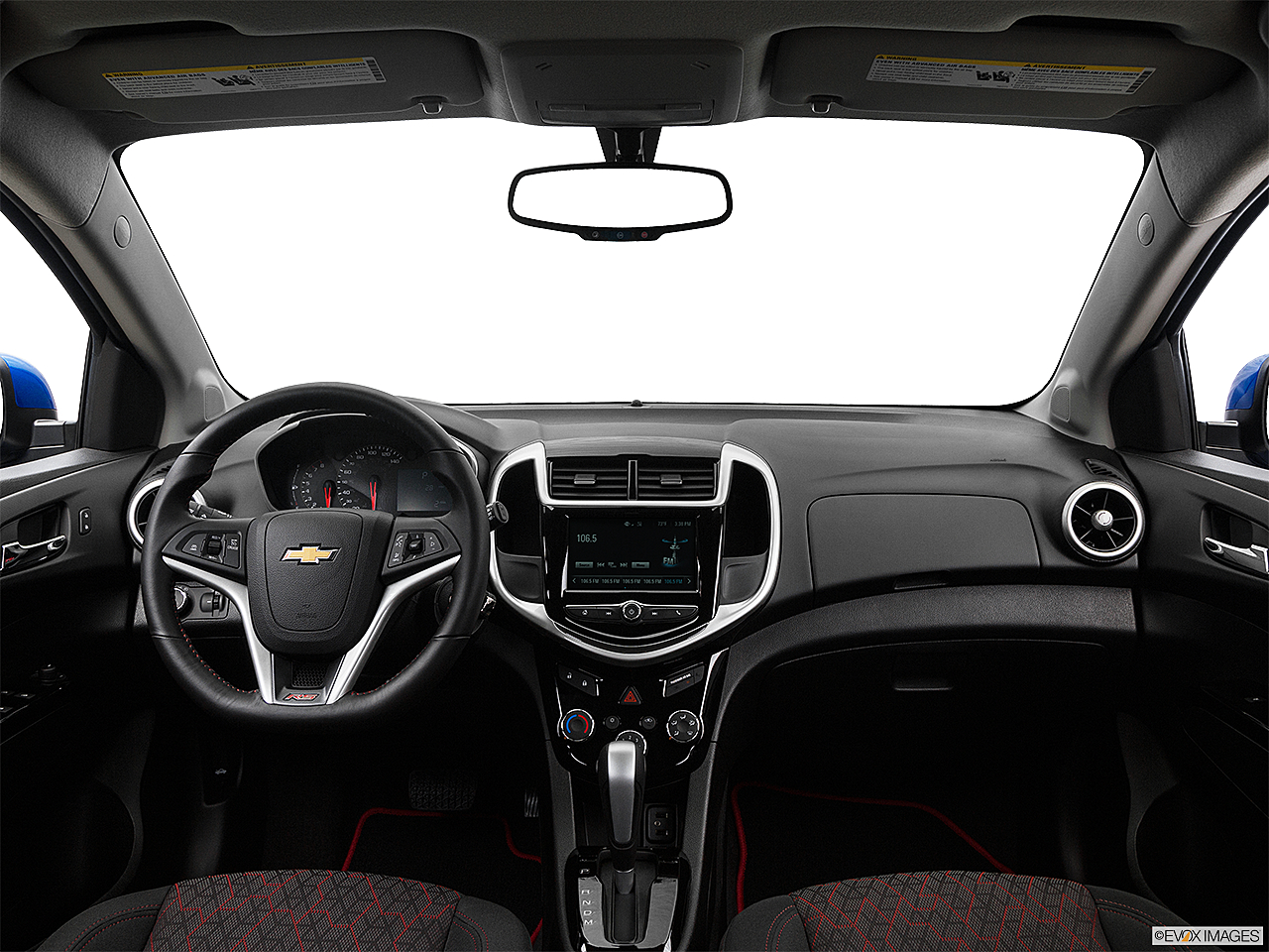 2017 Chevrolet Sonic Lt Auto 5 Door Centered Wide Dash Shot