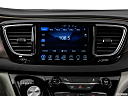 2017 Chrysler Pacifica Touring-L Plus, closeup of radio head unit