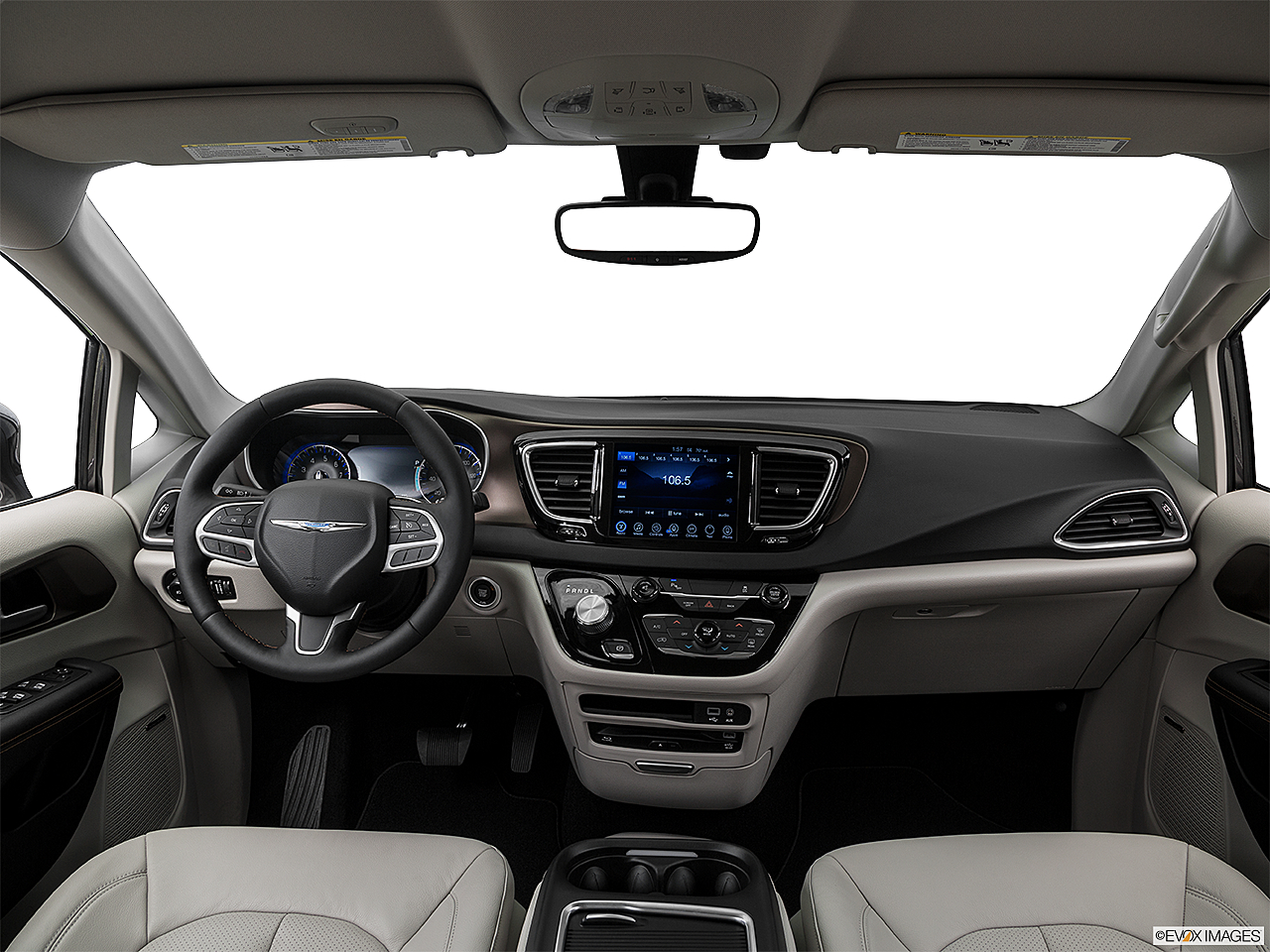 2017 Chrysler Pacifica Touring-L Plus, centered wide dash shot