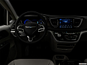 "2017 Chrysler Pacifica Touring-L Plus, centered wide dash shot - ""night"" shot."