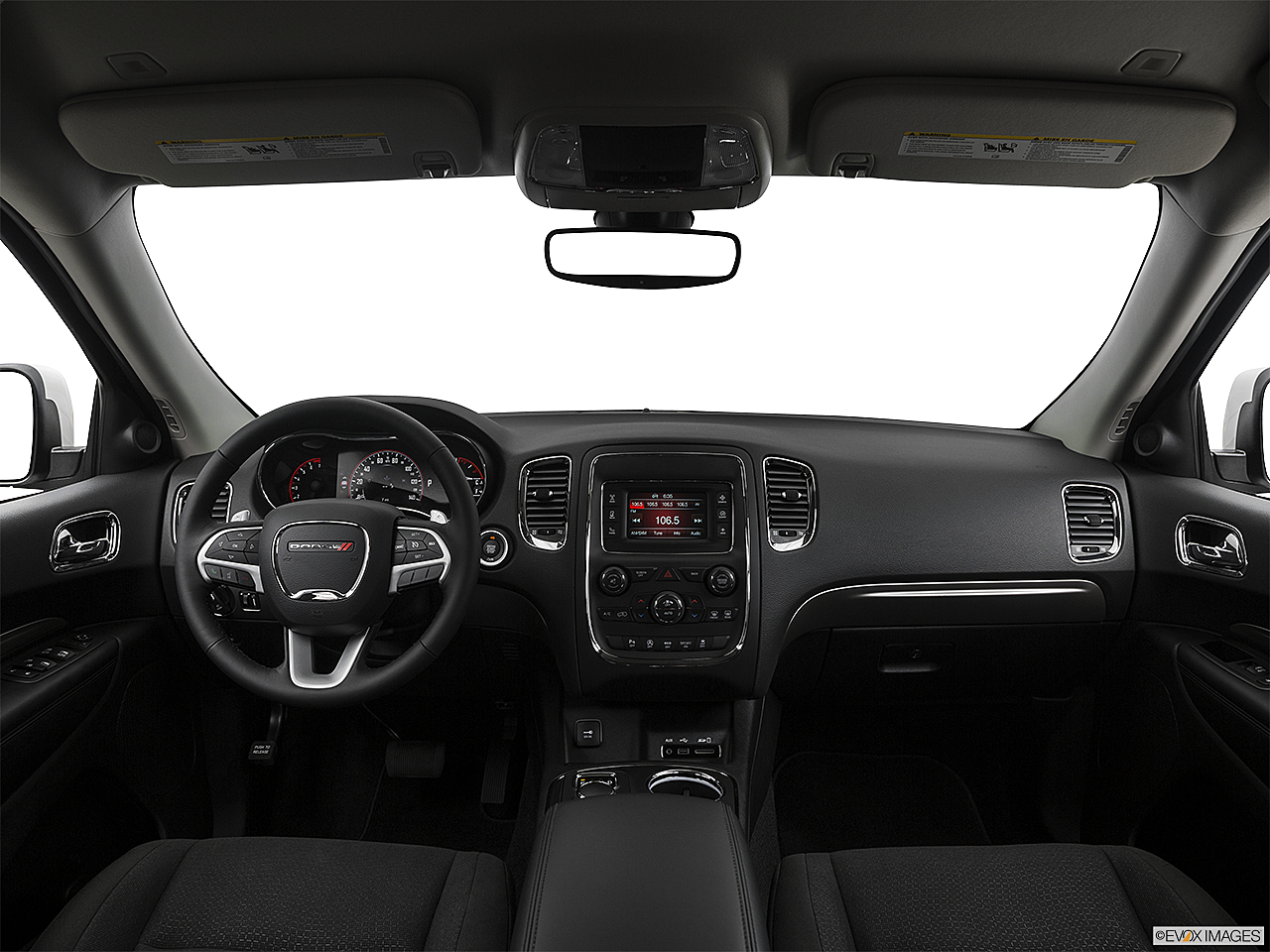 2017 Dodge Durango Sxt Centered Wide Dash Shot