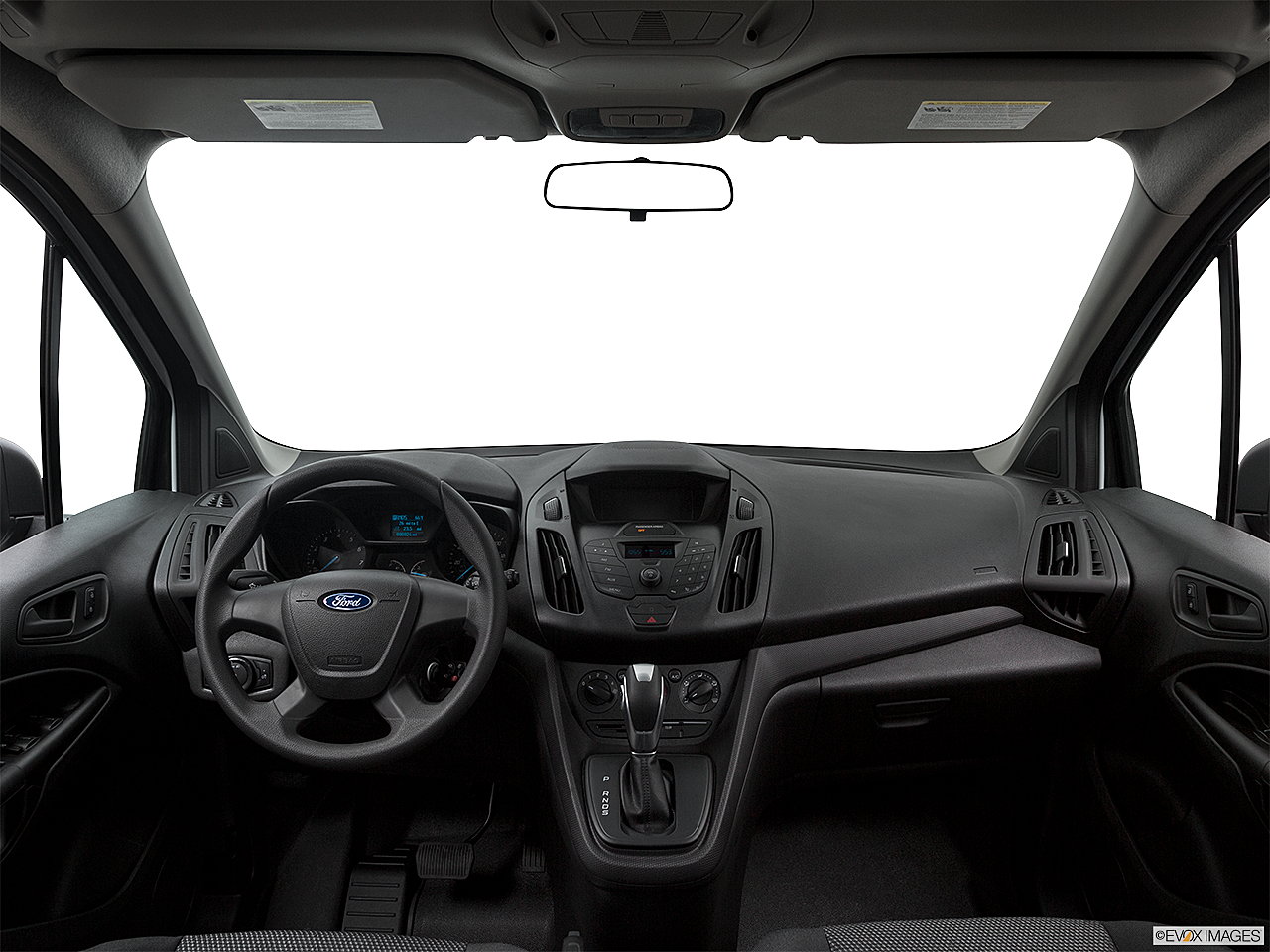 2017 Ford Transit Connect Wagon Extended XL Centered Wide Dash Shot