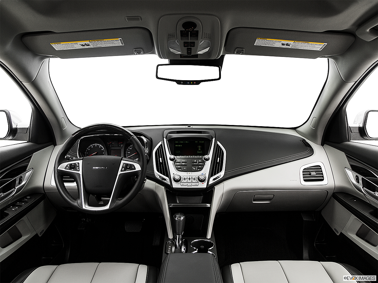 2017 Gmc Terrain Denali Centered Wide Dash Shot