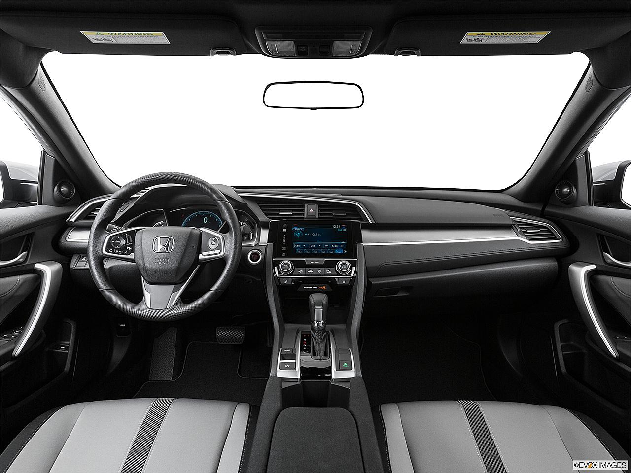 2017 Honda Civic Ex T Centered Wide Dash Shot