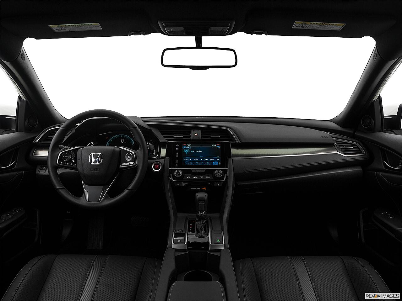 2017 Honda Civic Hatchback Lx Centered Wide Dash Shot