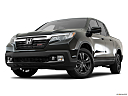 2017 Honda Ridgeline Sport, front angle view, low wide perspective.
